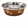 Ethical Pet Barcelona Pet Dish, 8-Ounce, Pearlized Copper