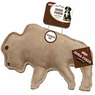 Ethical Pet Dura-Fused 9-Inch Leather Dog Toy, Large, Buffalo