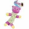 Ethical Pet Lil Spots Plush Bungee Toys for Small Dogs and Puppies, 9-Inch, Assorted