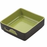 Ethical Pet Products (Spot) CSO6934 Four Square Ceramic Cat Dish, 5-Inch, Green