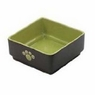 Ethical Pet Products (Spot) DSO6936 Stoneware 4-Square Dog Dish, 7-Inch, Green