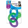 Ethical Pets Dura Brite Triple Ring Dog Toy, 6.5-Inch