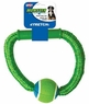 Ethical Pets Monster Bungee Ring with Handle and Tennis Ball, 8-Inch