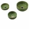 ETHICAL PRODUCTS 773839 Gilded Paw Dish for Dogs, 7-Inch, Green