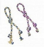 ETHICAL PRODUCTS 773849 Rainbow Twister Knotty Tug Assorted for Pets, 16-Inch