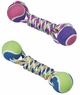 ETHICAL PRODUCTS 773853 Rainbow Twister 2 Ball Big Dumbell Toy for Pets, 10-Inch