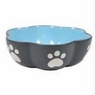 Ethical Stoneware Dish-Vienna Dog Dish New Item 1225- Blue 7 Inch