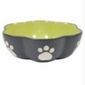 Ethical Stoneware Dish-Vienna Dog Dish New Item 1225- Green 7 Inch