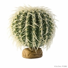 Exo Terra Barrel Cactus Terrarium Plant, Medium, From Exo Terra