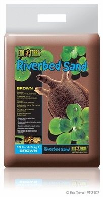Exo Terra Riverbed Sand, Amber, 10 lb, From Exo Terra