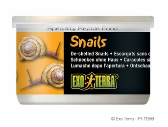 Exo Terra Snails, Unshelled, 1.7 oz, From Exo Terra