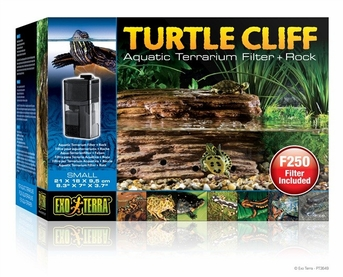 Exo Terra Turtle Cliff Filter/Rock, Small, From Exo Terra