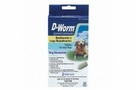 D-Worm (pyrantel pamoate) Chewable Tablets for Large Dogs