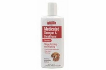 Sulfodene Brand Medicated Shampoo & Conditioner for Dogs 8oz