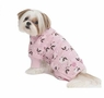 Fashion Pet Lamb Print Pet PJ's, X-Small, Pink