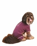 Fashion Pet Outdoor Dog Warm and Toasty Pajamas, Medium, Plum