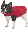 Fashion Pet Reversible Arctic Dog Coat, X-Small, Red