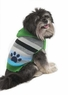 Fashion Pet Stripes and Paw Print Dog Hoodie, Large, Green