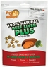 Pet n Shape Freeze Dried Beef Liver PLUS Sweet Potato & Broccoli 1.75 oz