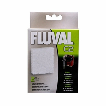 Fluval C2 Foam Pad 2/pack, From Hagen