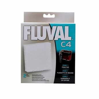 Fluval C4 Foam Pad 2/pack, From Hagen