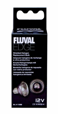 Fluval Edge Replacement 10W Halogen Bulb 2-pack, From Hagen