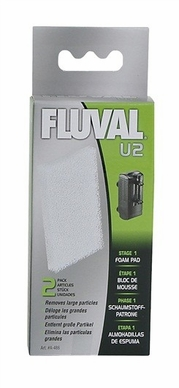 Fluval U2 Underwater Filter Foam Pad, From Hagen