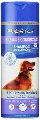 Four Paws Magic Coat 2-in-1 Shampoo and Conditioner, 16-Ounce