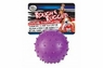 Four Paws Rough & Rugged Pimple Ball with Bell 2.75in
