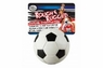 Four Paws Rough & Rugged Soccer Ball with Bell 2 3 4in
