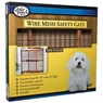 Wood Frame with Coated Wire Pet Gate