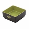 "Four Square Dog Dish Size: Small (5""), Color: Green"