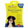 FURminator Shed Control Cloths for Dogs, 12-Count (104027)