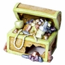 GloFish Treasure Chest Ornament for Aquarium