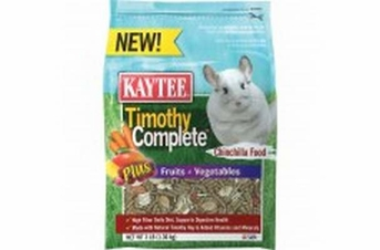 Kaytee Timothy Complete Plus Fruit Vegetables Chinchila 3lb