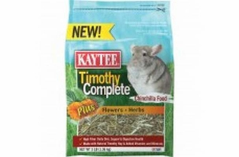 Kaytee Timothy Complete Plus Flower Herb Chinchila 3lb