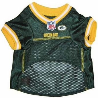 Green Bay Packers Dog Mesh Jersey