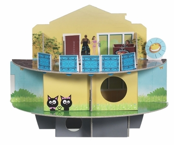 Habitrail Ovo Doll House, From Hagen
