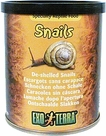 Hagen Exo Terra Canned Snails UnShelled, Reptile Food Insects, 3.4 oz From Hagen Exoterra