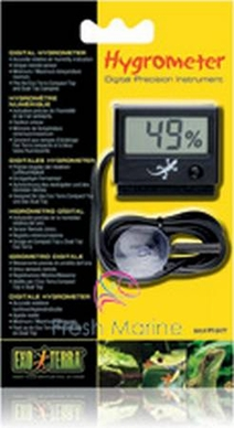 Hagen Exo Terra Hygrometer, Accurate Humidity With Probe, From Hagen Exoterra