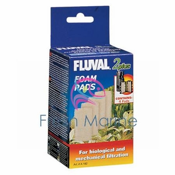 Hagen Fluval 2 Plus Foam Insert, 4 Pack