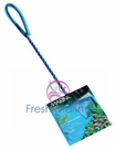 "Hagen Marina 4"" Blue Fine Nylon Fish Net with 9"" Handle"