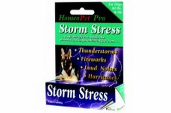 HomeoPet Pro Storm Stress K9 Over 80lb bottle 15ml