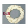 Pet Time Braided Rawhide Donut 8in