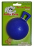 Jolly Pet 3-Inch Tug-n-Toss, Mini, Blue