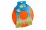 Jolly Pet Jolly Flyer Floating & Flying Dog Toy Orange 9.5in
