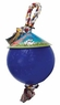 Jolly Pet Romp-n-Roll Durable Dog Toy Blue 4.5in