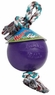 Jolly Pet Romp-n-Roll Durable Dog Toy Purple 4.5in