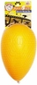 JOLLY PETS 8-Inch Plastic Jolly Egg for Pets, Yellow