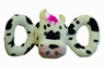 Jolly Pets Tug-a-Mal Cow Squeaky Toy for Pets, Large